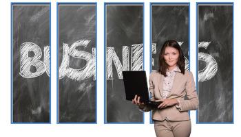 picture illustrates effective business presentation
